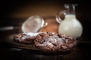 Kekse und Milch